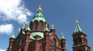 Stock Video Footage of Uspensky Cathedral (timelapse)