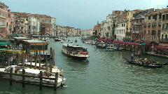 Stock Video Footage of Venice Grand Canal