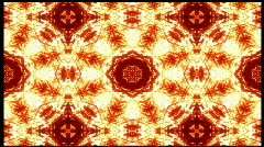 Firey Kaleidoscope Loopable Background HD720 - stock footage