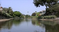 Stock Video Footage of Canals in Venice California
