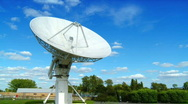 Radio Satellite (T-lapse) Stock Footage