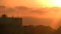 city sun 3 - stock footage