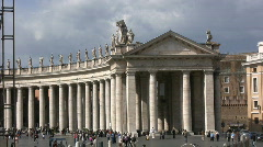 State of Vatican City Stock Footage