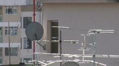 Antenna - stock footage