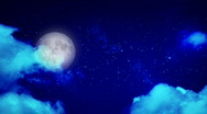 Mystical blue sky - HD Stock Footage