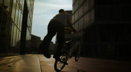 Stock Video Footage of BMX