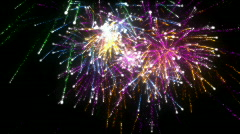 Fireworks. HD. CG. Stock Footage