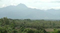 Poerto Princesa hinterland view 2 - stock footage