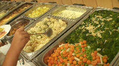Catering - stock footage