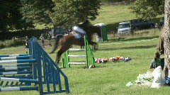 Show jumping 1 Stock Footage