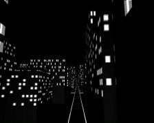 CityLightsGround - stock footage