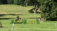 Stock Video Footage of show jumping 3