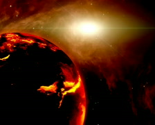 Magma planet PAL Stock Footage