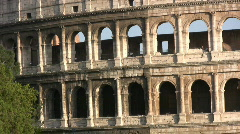 Coliseum in Rome - Italy - stock footage
