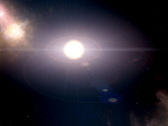 Stock Video Footage of planets in solar system PAL