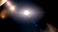planets in solar system - stock footage