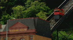 DuquesneInclineTrolley Stock Footage