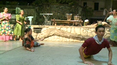 Philippino culture dancing 3 Stock Footage