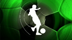 Soccer background, LOOP Stock Footage