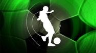 Soccer background, LOOP Stock Footage