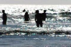 High Speed Camera : Ocean Waves Beach Resort 5 - stock footage