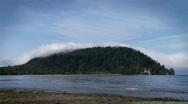 Island mist Stock Footage