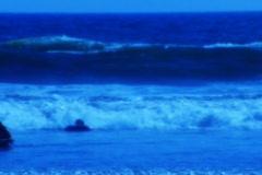 High Speed Camera : Ocean Waves Beach Resort 14 - stock footage