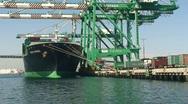 HD Port of Los Angeles Series Stock Footage