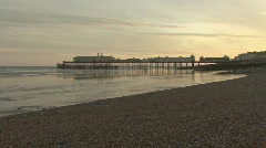 Hastings Pier - stock footage