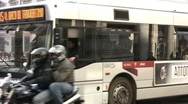 Traffic in Rome - Italy Stock Footage