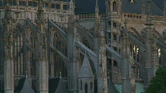 Gothic church Stock Footage