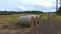 Bails hay HQ Stock Footage