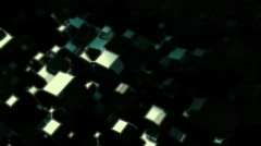 3D Cubes Motion Background HD Loop Stock Footage