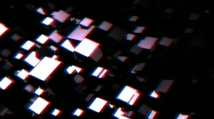 3D Vision Motion Background HD Loop - stock footage