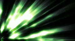 Green Light Ray HD Loop Stock Footage