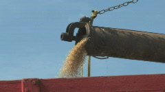 Threshing Machine 002 - stock footage