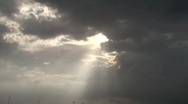 Cloudy Sky Stock Footage