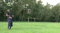 Soccer exercise Stock Footage