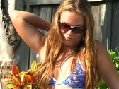Teen Blonde in a Jacuzzi-2b Stock Footage