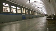 metro - stock footage