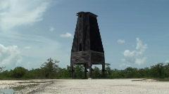Sugarloaf Key Bat Tower Stock Footage
