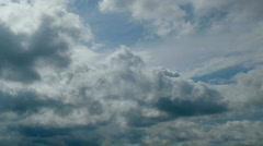 sky rainclouds - stock footage
