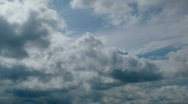 Stock Video Footage of sky rainclouds