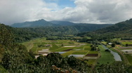 Stock Video Footage of Hanalei Valley