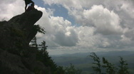 Blowing rock time lapse Stock Footage