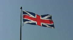 Union Jack.  Stock Footage
