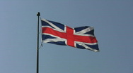 Stock Video Footage of Union Jack.