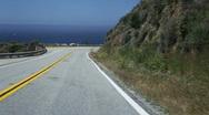 Highway 1, Big Sur, California Stock Footage
