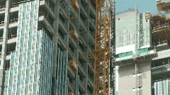 High Rise Construction Stock Footage