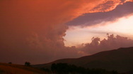 Dramatic sky  Stock Footage